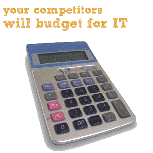 competitors budget for it