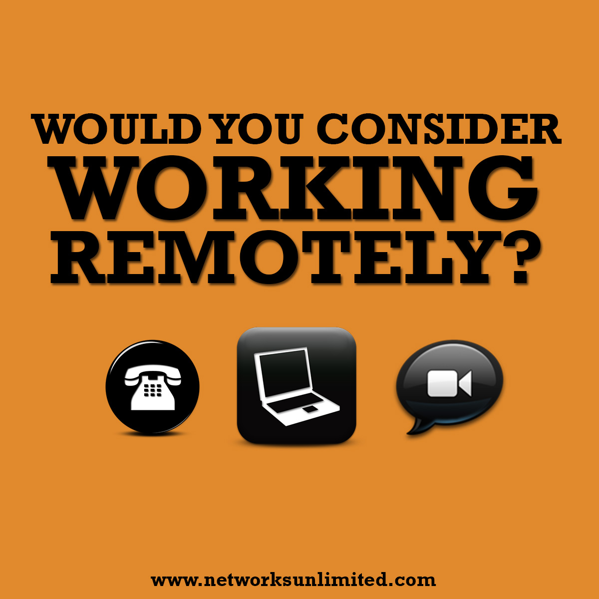 working remotely?
