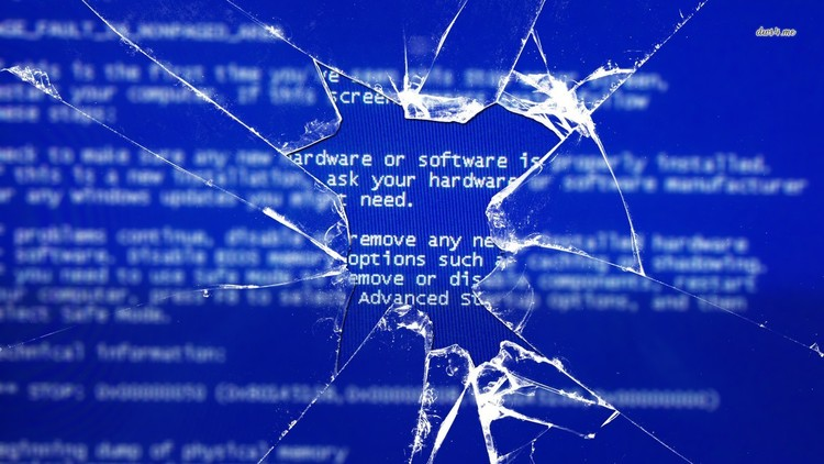 Fun And Harmless Broken Screen Wallpapers For April Fools Day