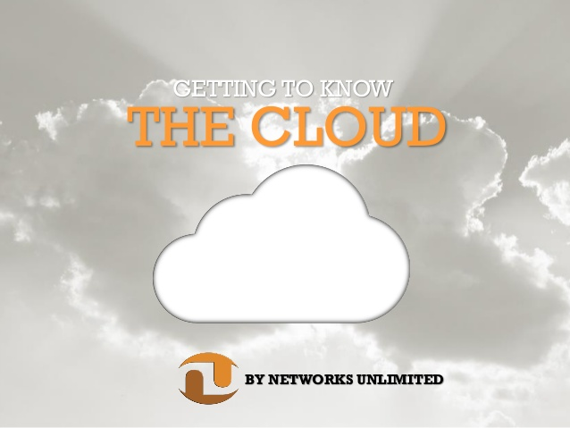 getting to know the cloud