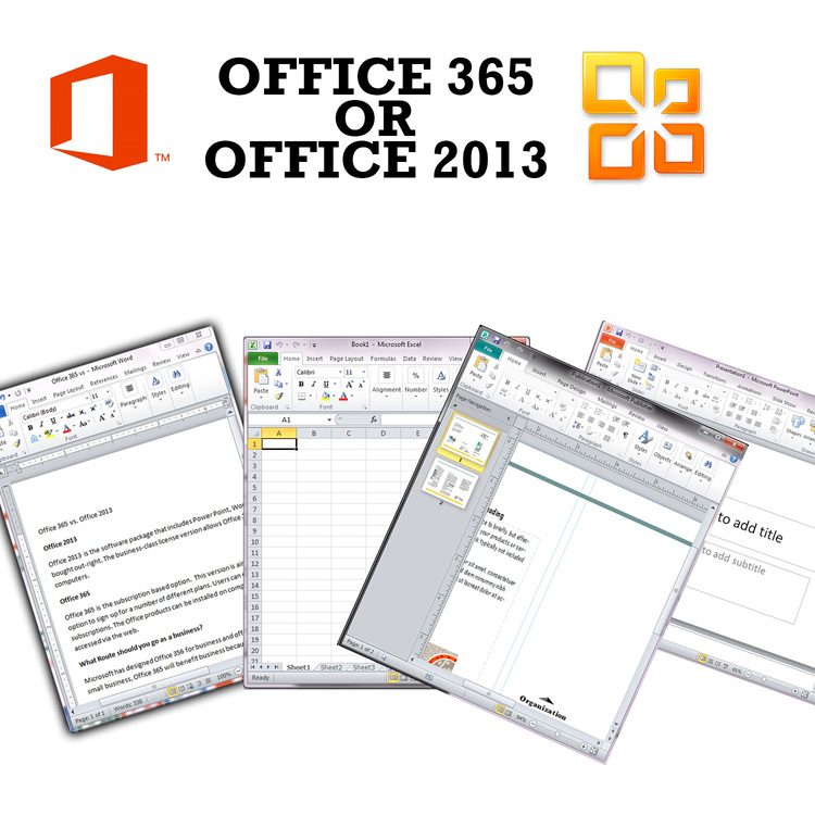 office 365 vs office 2013