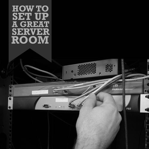 set up server room