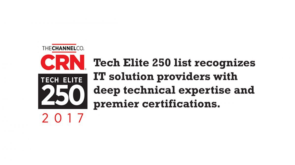 Tech Elite Award Networks Unlimited Named Recipient For 2017