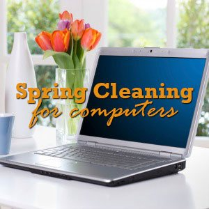 computer spring cleaning