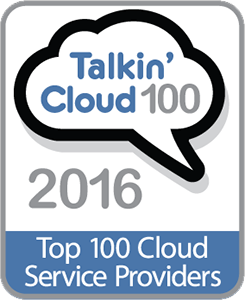 talkin cloud 100 logo
