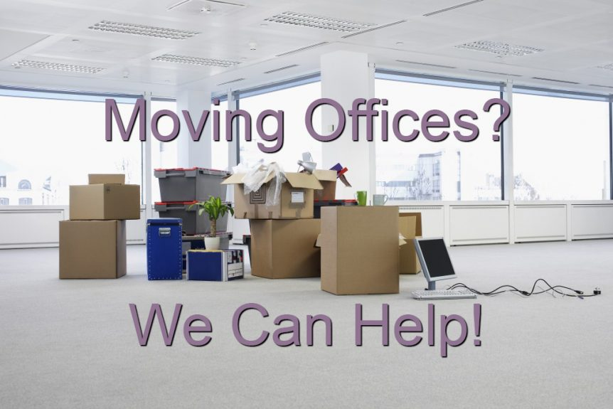 moving offices? We can help!